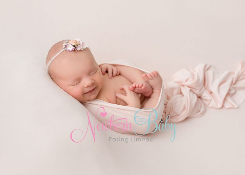 Fine Stretch Wraps | Newborn Baby Posing Limited